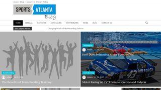 Guest Post on Sports Atlanta