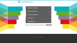 Guest Post on Sport Indexer