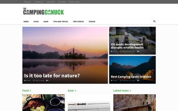 Guest Post on The Camping Canuck