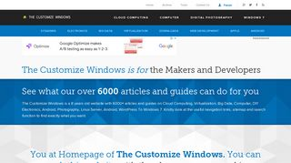 Guest Post on Thecustomizewindows