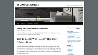 Guest Post on The Little Guest House