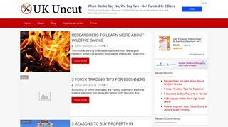 Guest Post on Ukuncut.uk