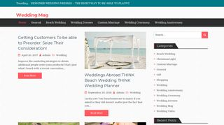 Guest Post on Wedding Mag