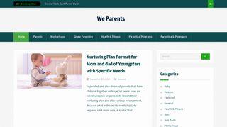Guest Post on We Parents