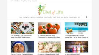 Guest Post on Diet of life